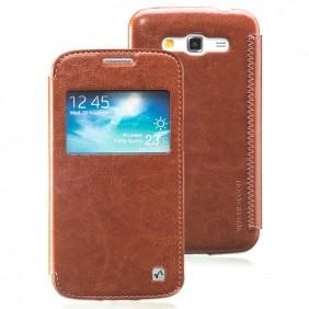 Чехол HOCO Crystal Smart View для Samsung Galaxy Grand 2 G7102 Brown