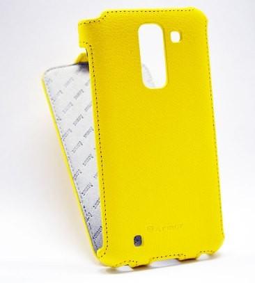Чехол для LG G3 Stylus D690 желтый