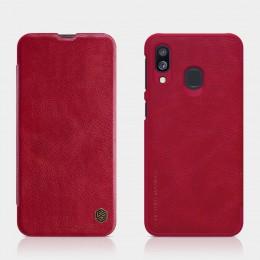 Чехол Nillkin Qin Leather Case для Samsung Galaxy A40 (2019) SM-A405 Red (красный)
