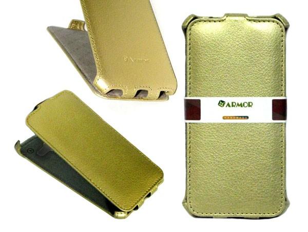 Чехол для Lenovo Vibe P1m золотой