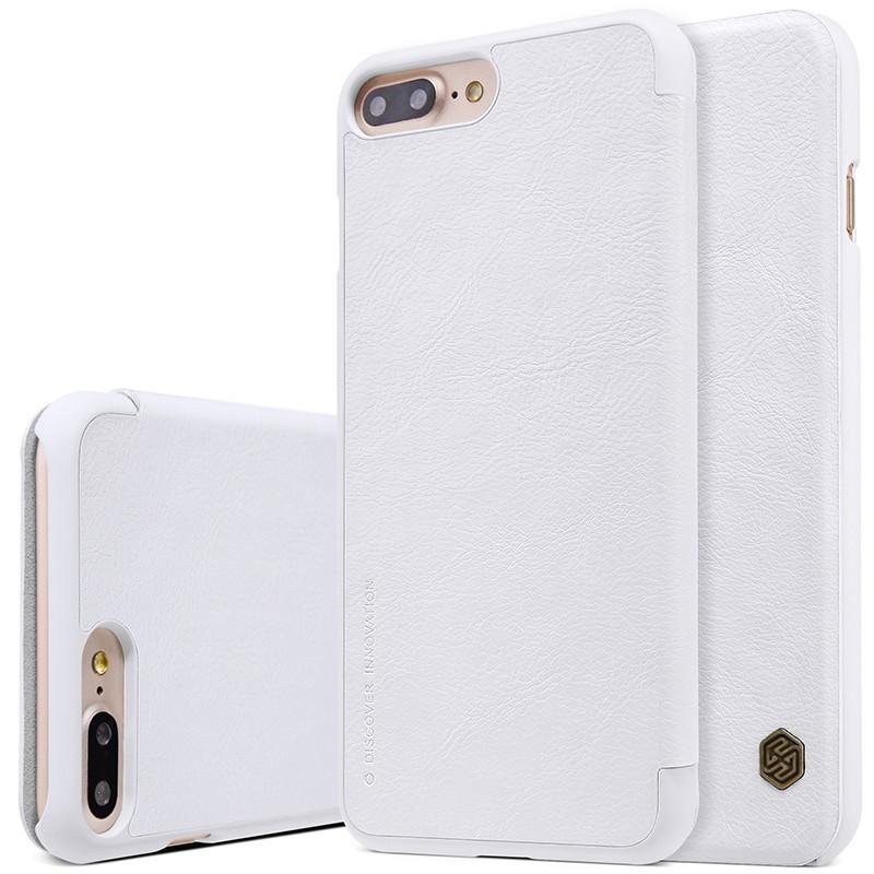 Чехол Nillkin Qin Leather Case для Apple iPhone 7 Plus White (белый)