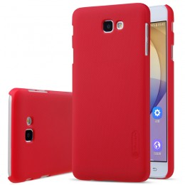 Накладка Nillkin Frosted Shield пластиковая для Samsung Galaxy J7 Prime (G610/On7 (2016)) Red (красная)