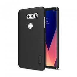 Накладка Nillkin Frosted Shield пластиковая для LG V30 Black (черная)