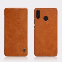 Чехол Nillkin Qin Leather Case для Huawei Nova 3 Brown (коричневый)