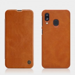 Чехол Nillkin Qin Leather Case для Samsung Galaxy A40 (2019) SM-A405 Brown (коричневый)