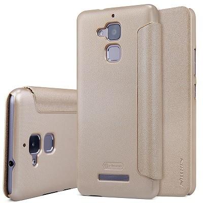 Чехол Nillkin Sparkle Series для Asus Zenfone 3 Max ZC520TL Gold (золотой)