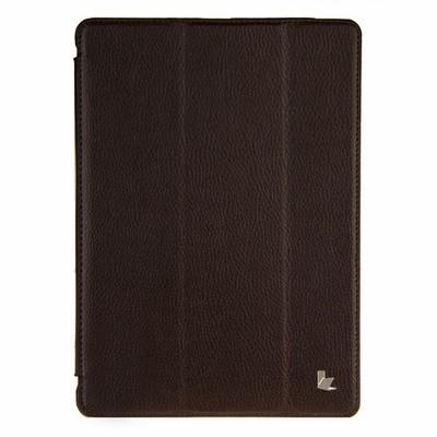 Чехол Jisoncase для iPad 5 Air коричневый с логотипом
