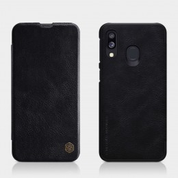 Чехол Nillkin Qin Leather Case для Samsung Galaxy A40 (2019) SM-A405 Black (черный)