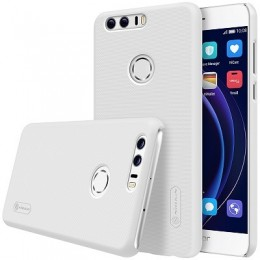 Накладка Nillkin Frosted Shield пластиковая для Huawei Honor 8 White (белая)