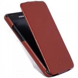 Чехол HOCO Leather Case для Samsung i9100 Galaxy S II Brown