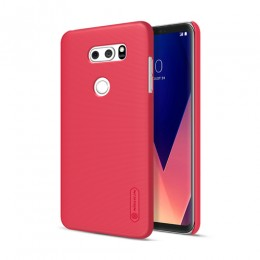 Накладка Nillkin Frosted Shield пластиковая для LG V30 Red (красная)