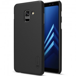 Накладка Nillkin Frosted Shield пластиковая для Samsung Galaxy A8 (2018) A530 Black (черная)