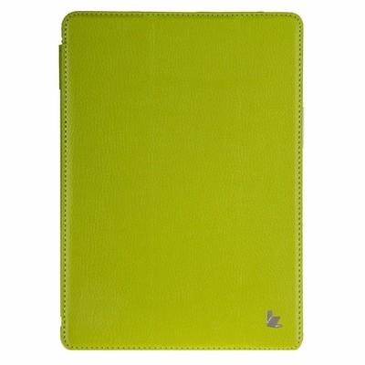Чехол Jisoncase для iPad 5 Air зеленый с логотипом