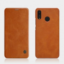 Чехол Nillkin Qin Leather Case для Huawei Nova 3i (P Smart Plus) Brown (коричневый)