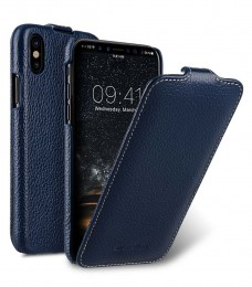 Чехол Melkco Jacka Type для iPhone X / iPhone XS Dark Blue (темно-синий)
