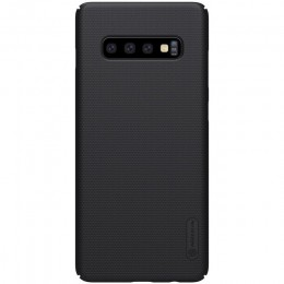Накладка Nillkin Frosted Shield пластиковая для Samsung Galaxy S10 SM-G973 Black (черная)