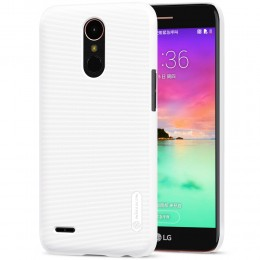 Накладка Nillkin Frosted Shield пластиковая для LG K10 2017 (X400/M250/LV5) White (белая)