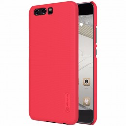 Накладка Nillkin Frosted Shield пластиковая для Huawei P10 Plus Red (красная)