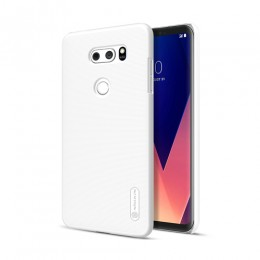 Накладка Nillkin Frosted Shield пластиковая для LG V30 White (белая)