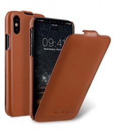 Чехол Melkco Jacka Type для iPhone X / iPhone XS Brown (коричневый)