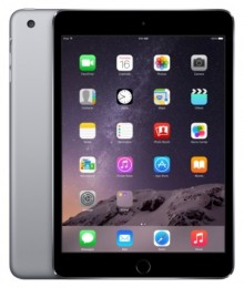Планшет Apple iPad mini 3 128Gb Wi-Fi + Cellular Space grey