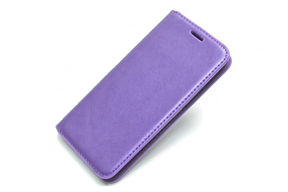 Чехол-книжка для Asus Zenfone 3 Max ZC520TL Book Type Purple (фиолетовая)