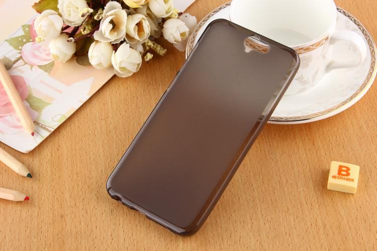 Накладка KissWill силиконовая для HTC One A9 прозрачно-черная