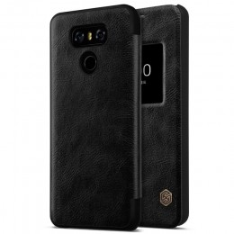 Чехол Nillkin Qin Leather Case для LG G6 (H870) Black (черный)