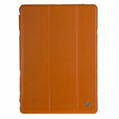 Чехол Jisoncase для iPad 5 Air оранжевый с логотипом