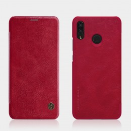 Чехол Nillkin Qin Leather Case для Huawei Nova 3i (P Smart Plus) Red (красный)