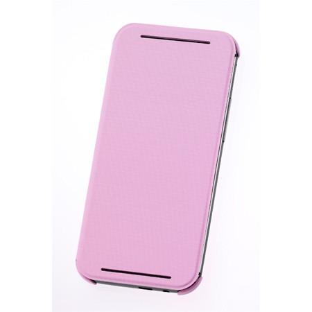 Чехол Flip Case (HC V980) для HTC One E8 розовый