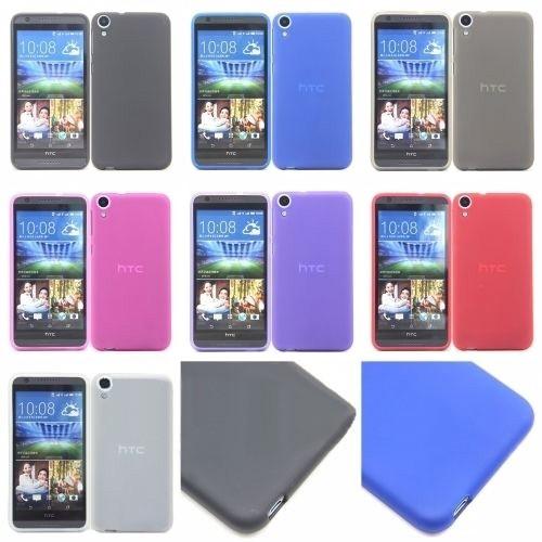 Накладка силиконовая для HTC Desire 820 фиолетовая