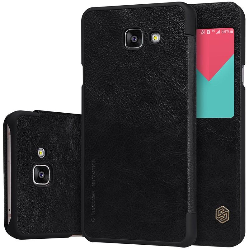 Чехол Nillkin Qin Leather Case для Samsung Galaxy A9 (A9000) Black (черный)