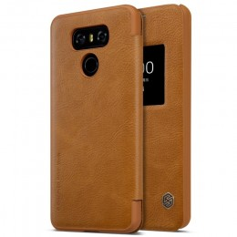 Чехол Nillkin Qin Leather Case для LG G6 (H870) Brown (коричневый)