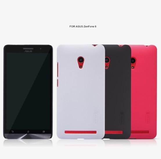 Накладка Nillkin пластиковая для ASUS Zenfone 6 красная