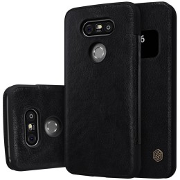 Чехол Nillkin Qin Leather Case для LG G5 H850 Black (черный)