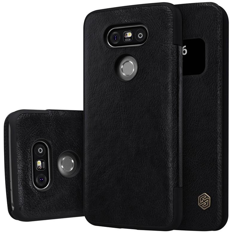 Чехол Nillkin Qin Leather Case для LG G5 H850 Black (черный)