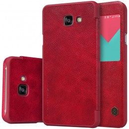 Чехол Nillkin Qin Leather Case для Samsung Galaxy A9 (A9000) Red (красный)
