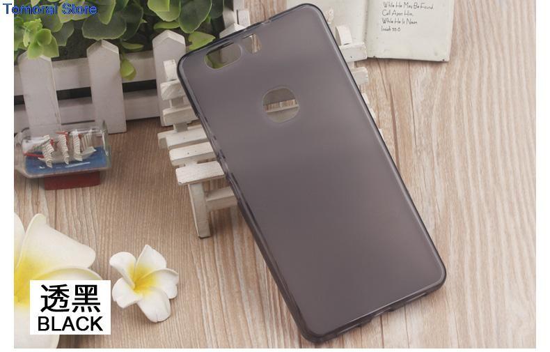 Накладка KissWill силиконовая для Huawei Honor V8 прозрачно-черная