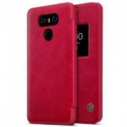 Чехол Nillkin Qin Leather Case для LG G6 (H870) Red (красный)