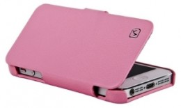 Чехол-книжка HOCO Duke folder Leather Case для iPhone 5 Pink