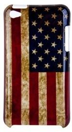 Накладка для iPod Touch 4 флаг США под старину