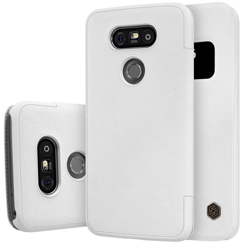 Чехол Nillkin Qin Leather Case для LG G5 H850 White (белый)