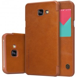 Чехол Nillkin Qin Leather Case для Samsung Galaxy A9 (A9000) Brown (коричневый)