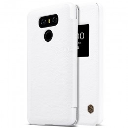 Чехол Nillkin Qin Leather Case для LG G6 (H870) White (белый)