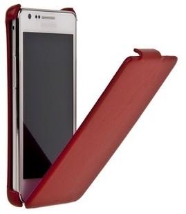 Чехол Fashion для Samsung i9100 Galaxy S II Red гладкий