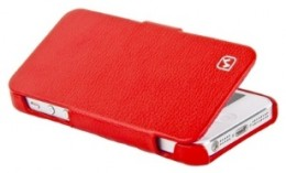 Чехол-книжка HOCO Duke folder Leather Case для iPhone 5 Red