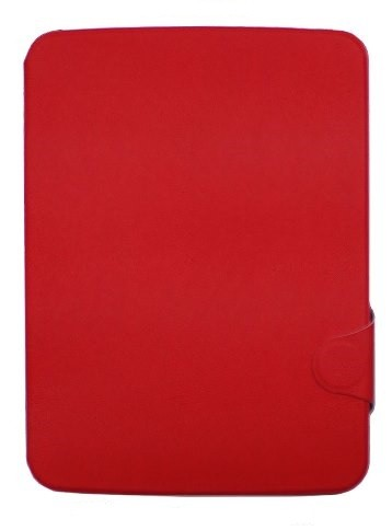 Чехол для Samsung Galaxy Note 10.1 P601/605 рифленый красный