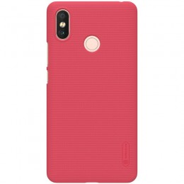 Накладка Nillkin Frosted Shield пластиковая для Xiaomi Mi Max 3 Red (красная)