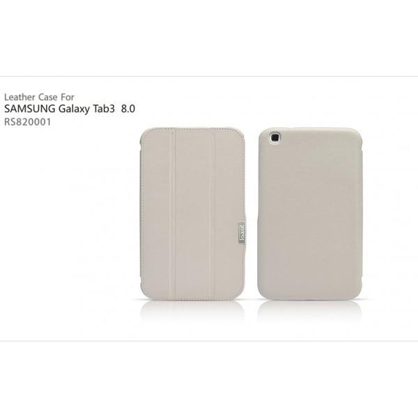 Чехол iCarer Leather Case для Samsungalaxy Tab3 8.0 T311/T310/T315 White